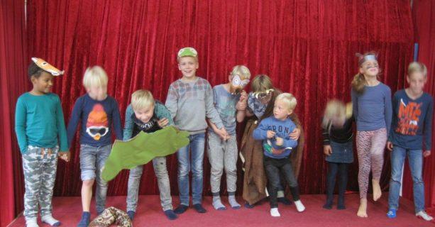 Kinderen van de BSO kunnen het theater in!