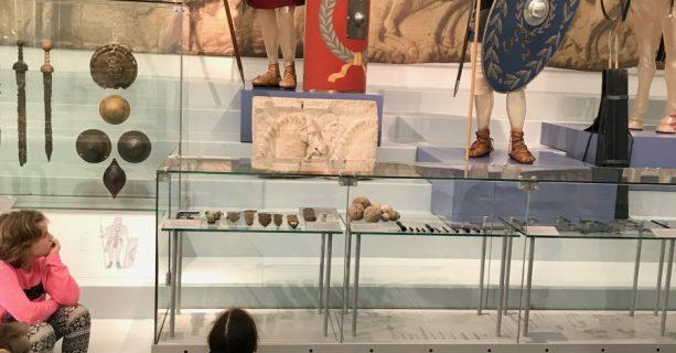 Op zoek naar Romeinen in het Valkhof museum