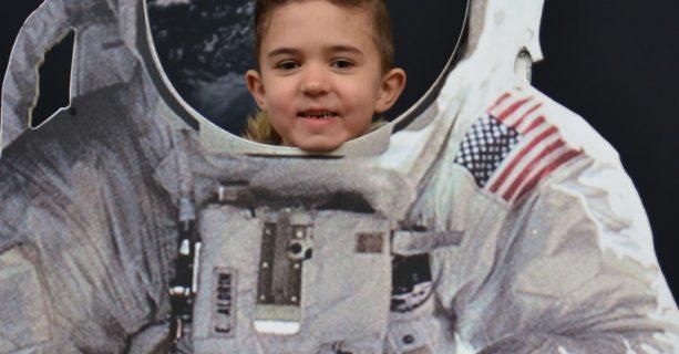 De Berk maakt een ruimtereis