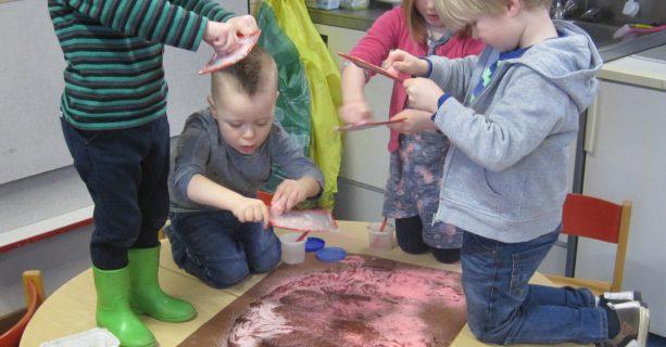 Thema kinderboerderij in de peutergroep