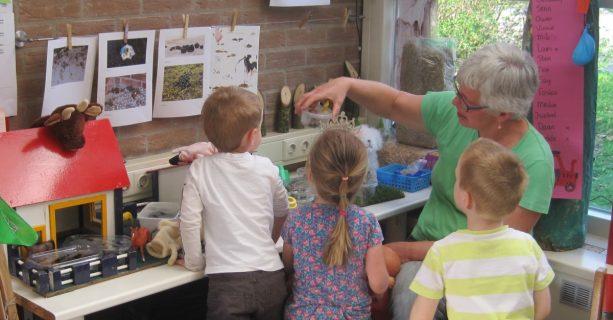'poepmuseum' in peutergroep 'het Olifantenbos'