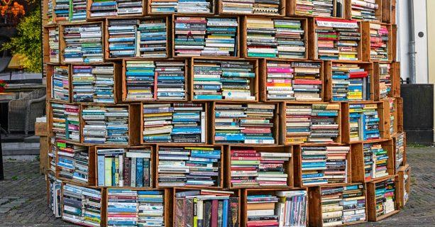 Boekenmarkt tijdens de Kinderboekenweek